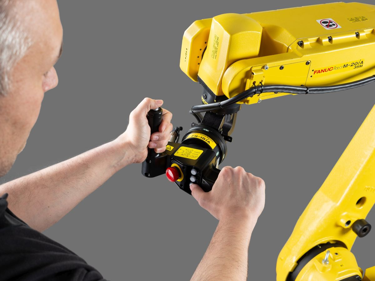 Fanuc Hand Guidance Function