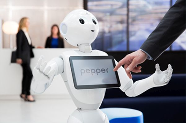 Humanoider Roboter Pepper